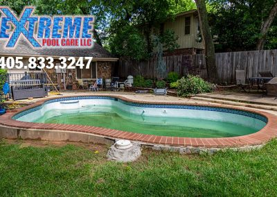 Swimming Pool Coping Replacement and Tile Repair – Edmond, Oklahoma