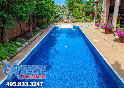 Swimming Pool Liner Replacement - Oklahoma City, Oklahoma