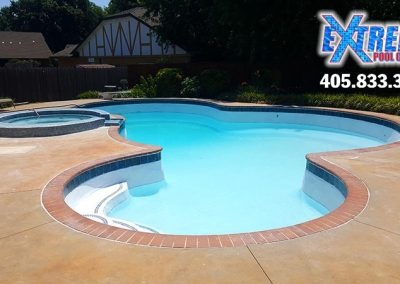 Swimming Pool and Spa Remodel – Oklahoma City, Oklahoma