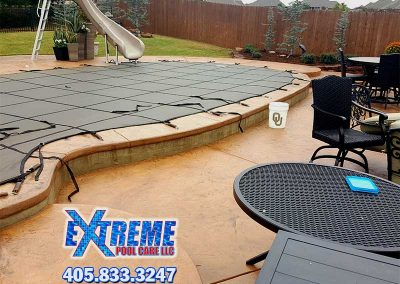 Swimming Pool Cover Installation