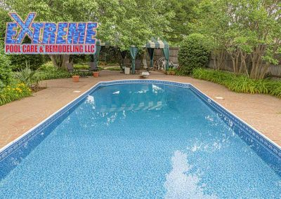 New Liner Installation by Extreme Pool Care & Remodeling in Oklahoma City