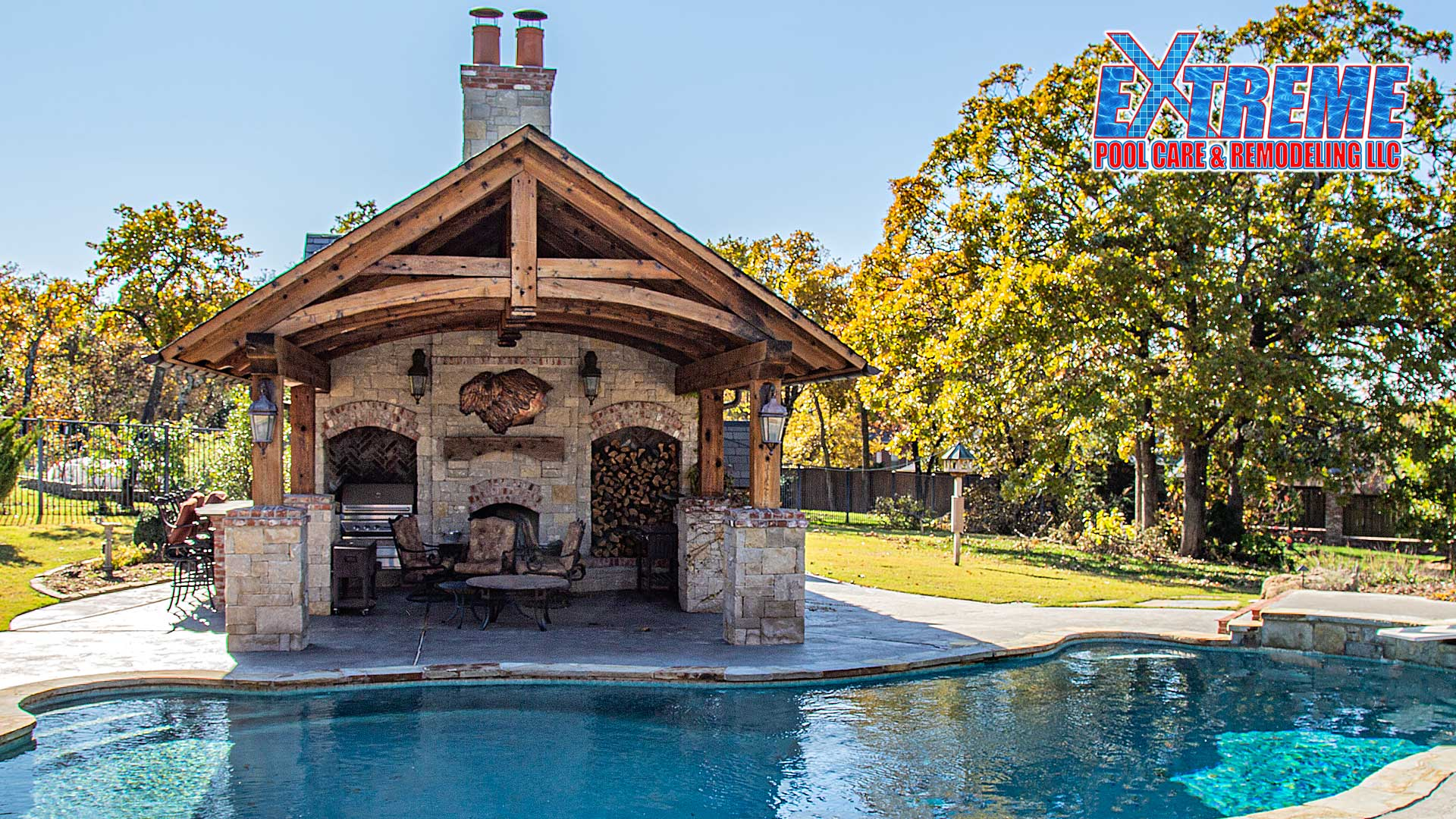 Custom Pool Houses by Extreme Pool Care LLC in Oklahoma City