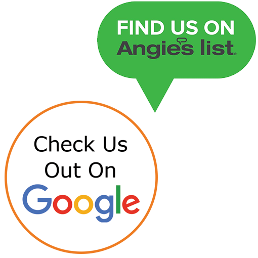 Check Us Out On Google & Angie's List